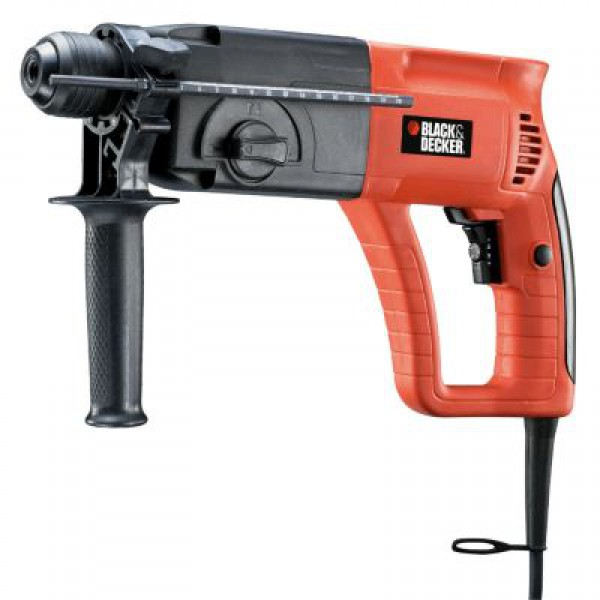 1518 Rotary Hammer 1 .25in Spline Shark Black Decker Macho II