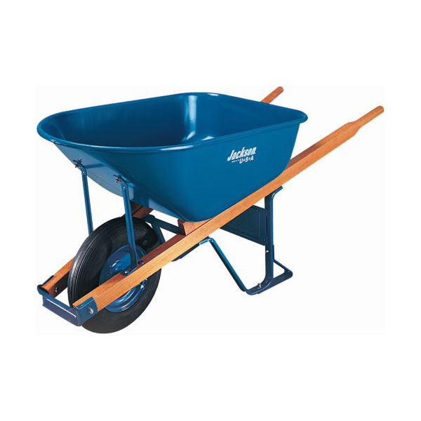 1520 2078 6 cu ft jackson professional wheelbarrow