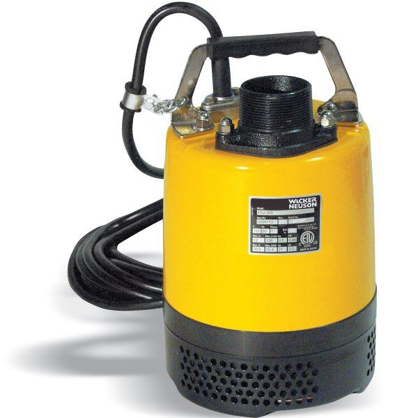 1784 Wacker 2n Submersible Pump with float switch STP400 600x600