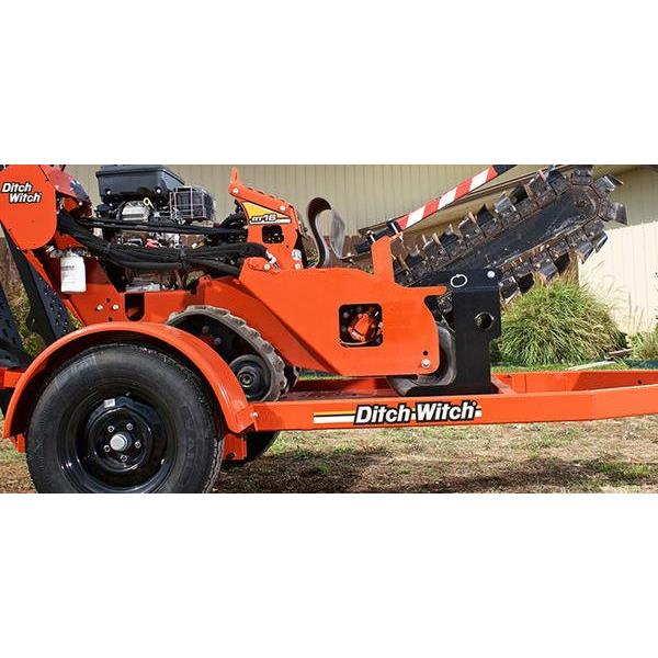 1987 Trailer S1A Tilt Bed Trencher DitchWitch 600x300
