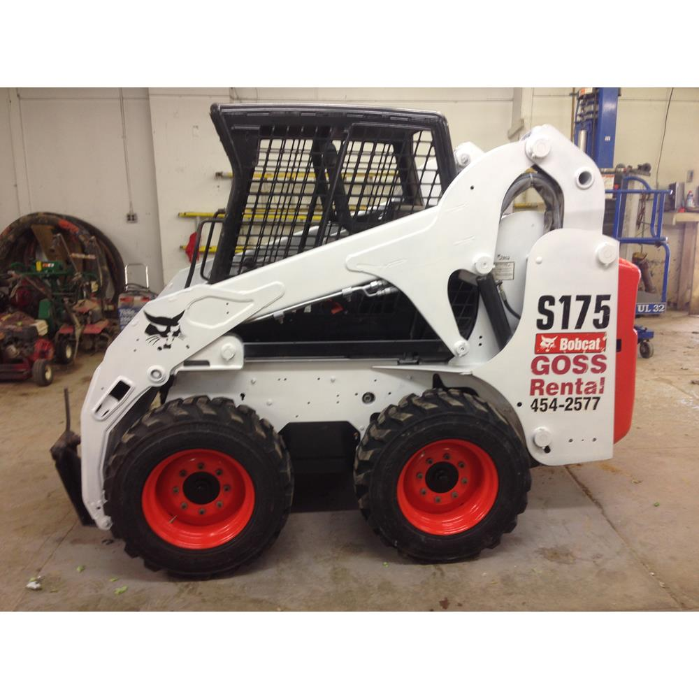 Bobcat Skid Steer Loader - S175 - Diesel, 40 hp, 60'' wide
