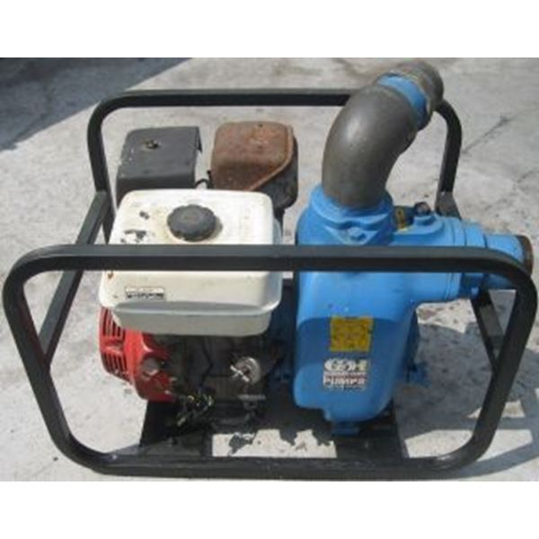 2500 2350 3in Trash Pump 13D GX240 Gorman Rupp 8 hp Hona PXPUMP 3inT