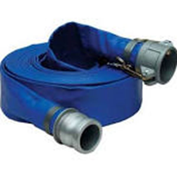 50ft. 3in pvc discharge hose